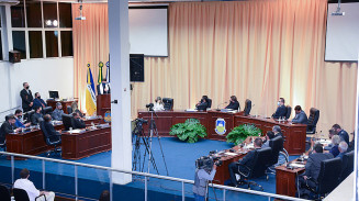 Plenário da Câmara de Vereadores de Dourados (Imagem: Divulgação)