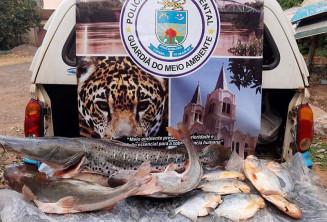Mesmo após a negativa, os policias acreditam na autoria do indivíduo por ele ser reincidente em prática de pesca predatória. Imagem (Divulgação)