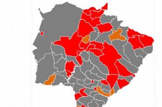 Novo mapa do Prosseguir divulgado hoje (Imagem: Divulgação)
