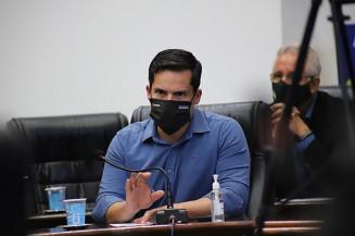 Vereador Diogo Castilho é acusado de quebra de decoro (Imagem: Divulgação)