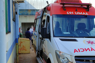 Paciente é transferido para SP. Imagem: (Assecom)