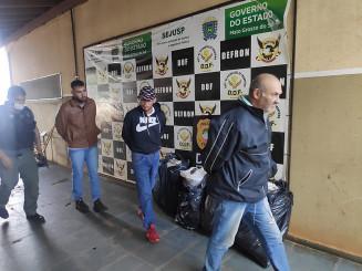 Três são presos em Ponta Porã. Imagem: (Adilson Domingos)