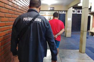 Estudante passou por audiência de custódia nesta quinta-feira. Imagem: (Adilson Domingos)