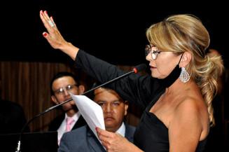 Vanda Camilo (PP) eleita prefeita de Sidrolândia. Imagem: (Assessoria)