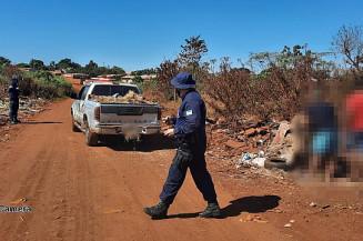 Em locais inadequados, douradenses insistem em jogar resíduos (Imagem: Guarda Municipal)