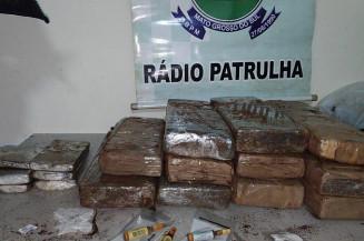Cinco pessoas são presas por associação criminosa e trafico de drogas em ação da Policia Militar em Dourados (Imagem: Adilson Domingos)
