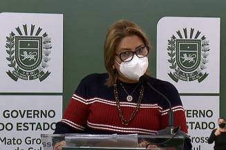 Adjunta estadual de saúde, Cristhinne Maymone (Imagem: Assecom)