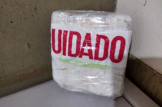Cocaína apreendida pela PRF (Imagem: PRF)