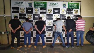 Seis presos em operação da Defron (Imagem: Adilson Domingos)