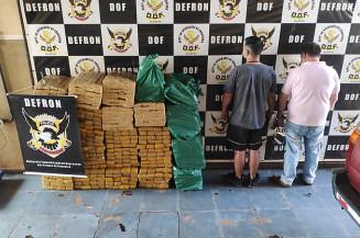 Dois são presos em Ponta Porã por tráfico de drogas (Imagem: Adilson Domingos)