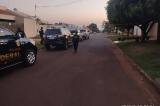 Polícia Federal cumpre mandados em Dourados e Ponta Porã (Imagem: Polícia Federal)