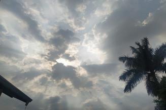 Nebulosidade e pancadas de chuva para esta quinta-feira (Imagem: Dourados Informa)