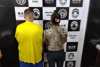 Casal é preso em Dourados (Imagem: Adilson Domingos)