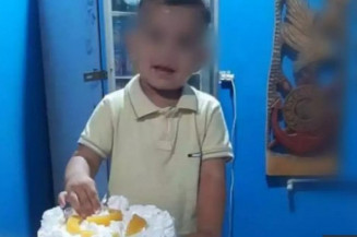 Criança que morreu sufocada pelo irmão (Imagem: Campo Grande News)