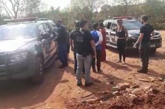 Todos os envolvidos foram levados para Delegacia da Polícia Civil de Ponta Porã (Imagem: GCMFron)