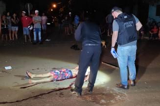 Vítima foi golpeada pelas costas e mo braço (Imagem: Adilson Domingos)