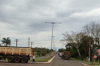 Diminui número de protestos em rodovias do MS (Imagem: Direto das ruas)