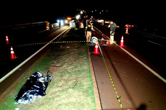 Motociclista morreu ao andar na contramão (Imagem: Adilson Domingos)