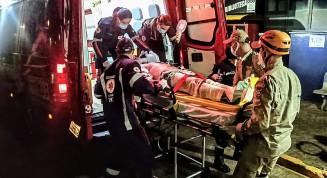 Motociclista morre no Hospital da Vida depois de acidente em Dourados (Imagem: Adilson Domingos)