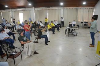 O prefeito Alan Guedes lembrou que o município tem atuado em diferentes frentes, com incentivos fiscais (Imagem: Assecom)