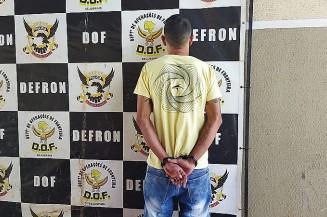 Homem preso , confessa roubo de SUV em Dourados (Imagem: Adilson Domingos)