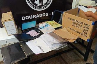 Materiais apreendidos durante as investigações (Imagem: Reprodução)