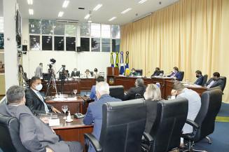 Plenário da Câmara de Vereadores de Dourados (Divulgação)