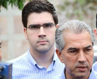 Reinaldo e o filho, o advogado Rodrigo Souza e Silva (Arquivo)
