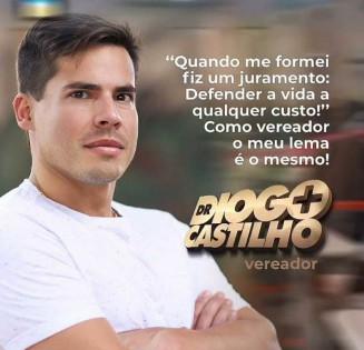 O médico Diogo Castilho, vereador do DEM (Reprodução)