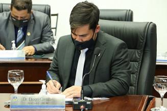 Vereador Diogo Castilho é alvo de pedido de cassação (Divulgação)