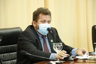 O presidente da Câmara de Dourados Laudir Munaretto (Divulgação)