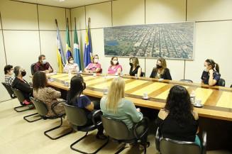 """Mulheres durante """"Café com o Presidente"""", hoje na Câmara (Imagem: Valdenir Rodrigues)"""