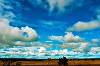 Domingo de sol e calor em Dourados. Imagem (Arquivo)