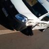 Carro carregado com vacinas bate em carreta na BR 163. Imagem: (Ronas César/Alvorada informa)