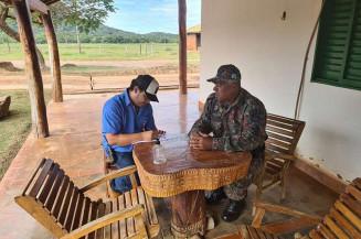 """Polícia Militar Ambiental lançou a operação """"Prolepse"""" de prevenção aos incêndios em Mato Grosso do Sul. Imagem: (Assessoria)"""
