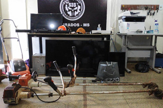 Produtos recuperados pelo SIG (Imagem: Adilson Domingos)